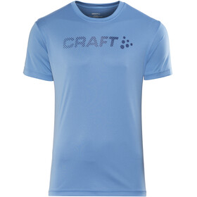 Craft M's Prime Logo Tee Coast/True Blue